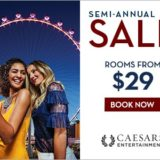 Caesars Entertainment Semi-Annual Sale
