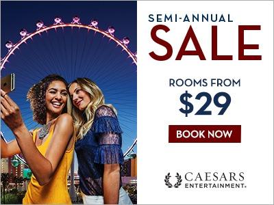 Caesars Entertainment Semi-Annual Sale