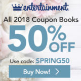 50% Off Entertainment Books