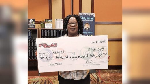 Vegas bingo player wins over $46K