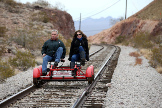 """Rail Explorers"" in Boulder City"