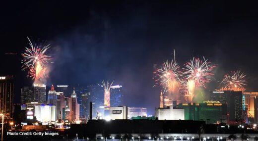 New Year's in Las Vegas